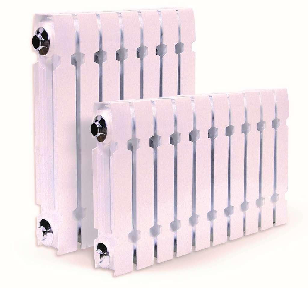 Пример чугунных радиаторов Konner