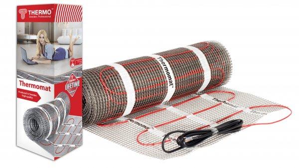 Thermomat – это тонкий двужильный нагревательный кабель