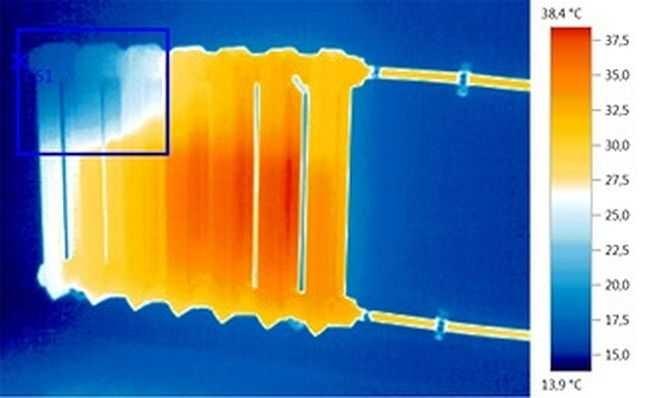 Пример радиатора отопления