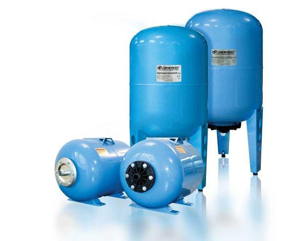 Гидроаккумулятор Джилекс для систем водоснабжения