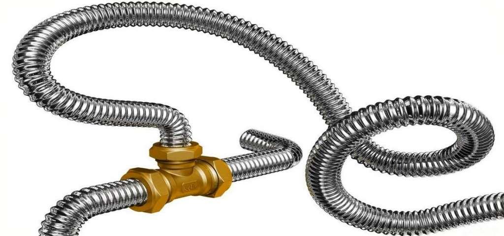 Пример гибкой подводки