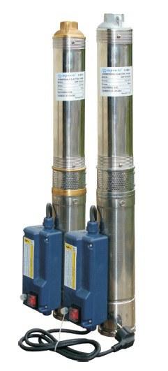 Погружной скважинные насос Aquario применяется для перекачивания чистой воды из скважин