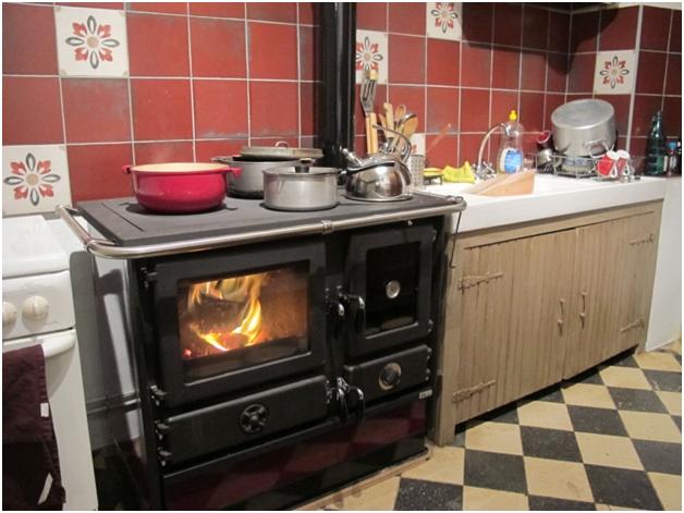 Варочная печь на дровах