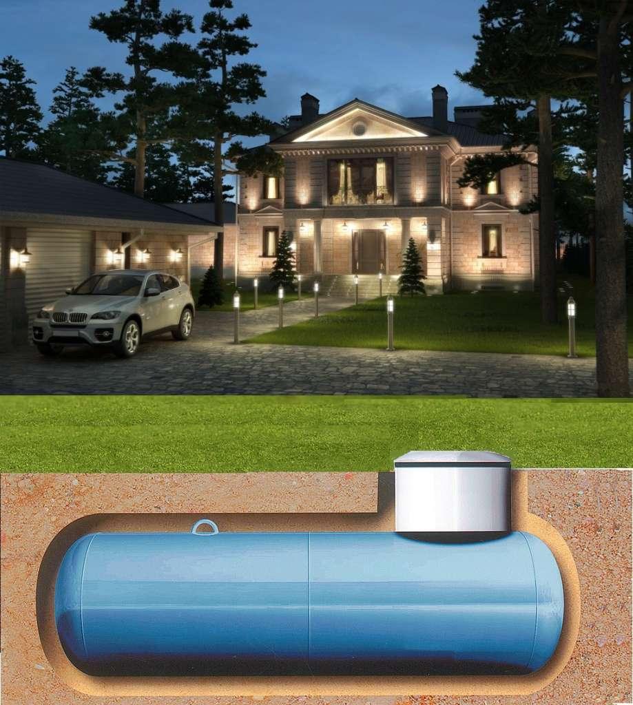 Автономная газификация жилого дома