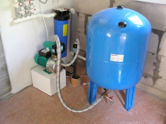 водоснабжения в частном доме схема